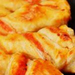 Пицца с косичками