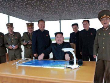 Ким Чен Ын - запуск ракеты
