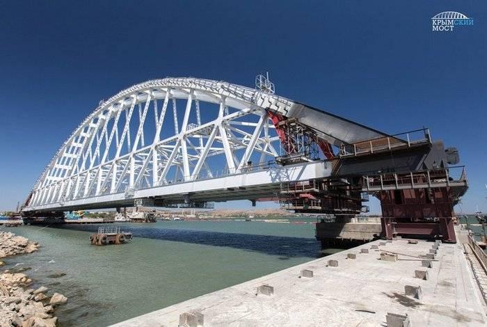 Крымский мост скоро