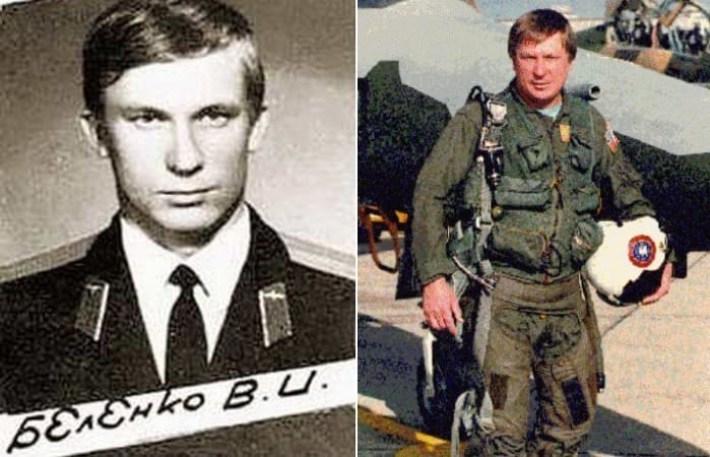 Бывший советский летчик Виктор Беленко