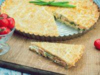Пирог из консервированной рыбы