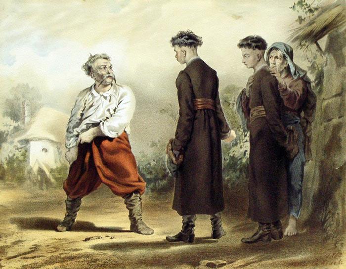По Гоголю
