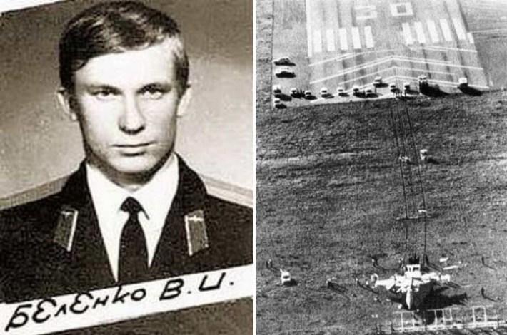 Истребитель, угнанный летчиком Виктором Беленко