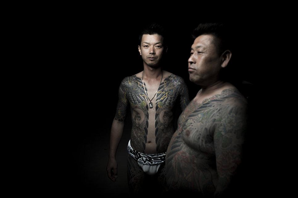 Корни японской мафии
