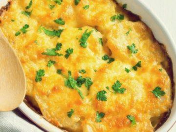 Рыбно-картофельная запеканка