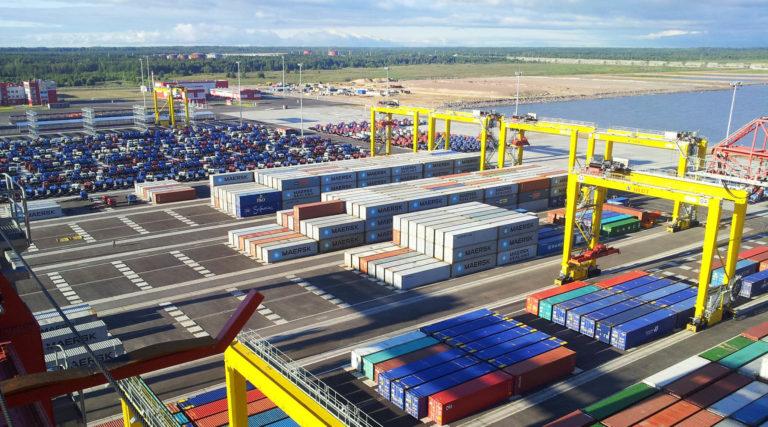 Морской торговый порт Усть-Луга