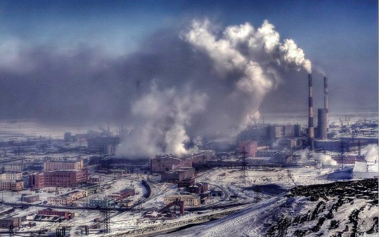 Самый грязный город России
