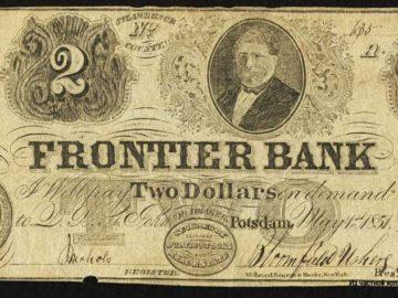 Доллары США 1851 год