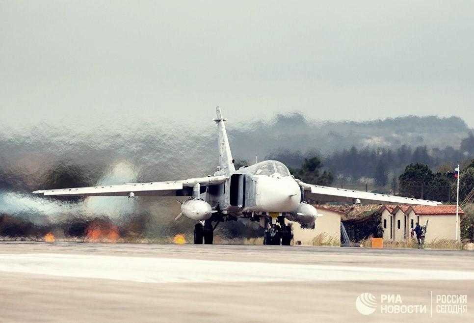 Сирия. Разбился российский СУ-24